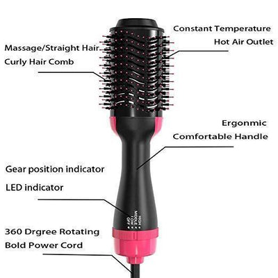 One Step Salon 2-in-1 Hair Dryer & Styler