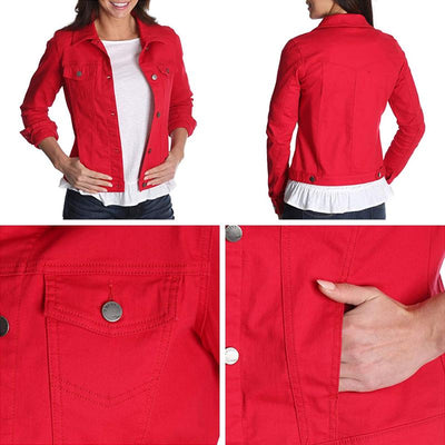 Women's Stretch Denim Jacket