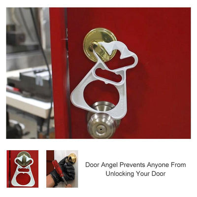Safe door lock, it's time to feel safe when you're home alone
