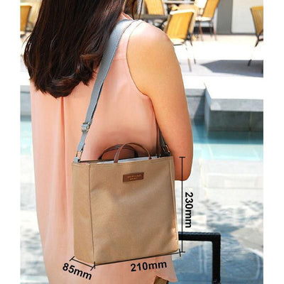 Stylish Lightweight Multi Story Large Capacity Shoulder Bag