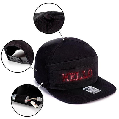 haloera™ LED Message Hat