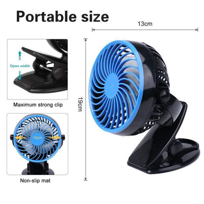 Haloera™ 360° Mini Portable Personal Fan