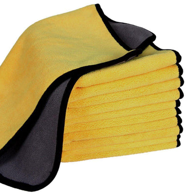 Professional Polishing Waxing Drying Cleaning Towel, 2 Packs