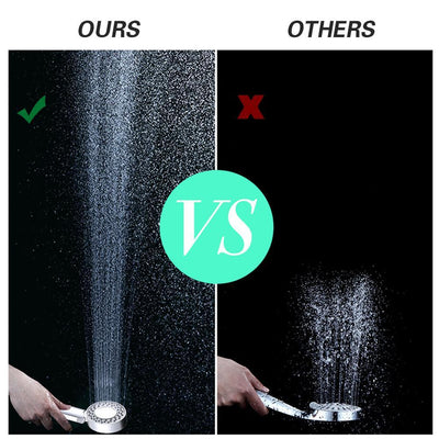 MVSTU™ Double Sided High Pressure Shower Head