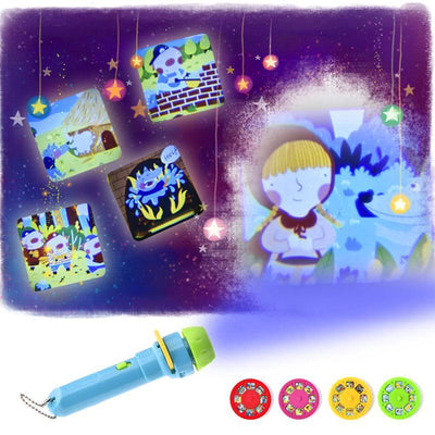 haloera™ Kids Story Time Flashlight Projector