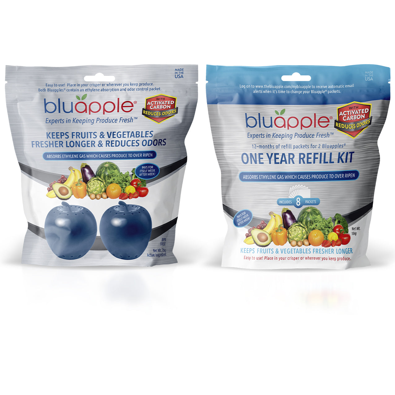 Bluapple® with Activated Carbon 15-Month Bundle