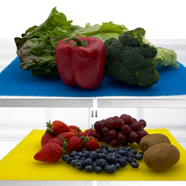 New! FreshMat™ Produce Mats That Promote Healthy Produce. Blue FreshMats™