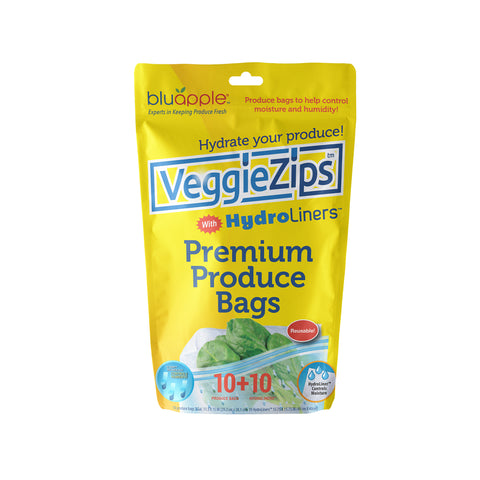 VeggieZips™ with HydroLiners™ 10-Pack