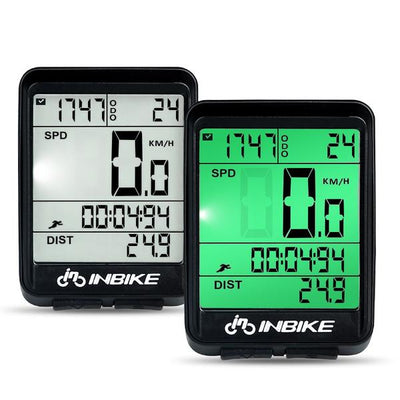 Bike-Tek Wired Odometer, Stopwatch and Speedometer