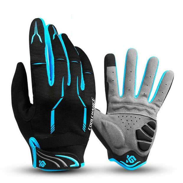 Grip Monster Touch Screen GEL Cycling Gloves