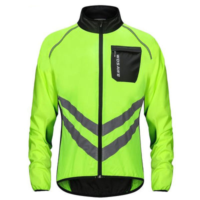 LumiGlow High Visibility Cycling Jacket