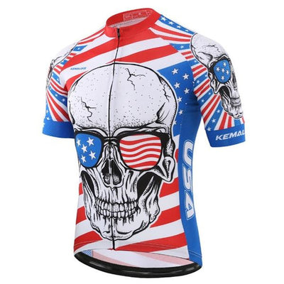 American Skull Cycling Jersey