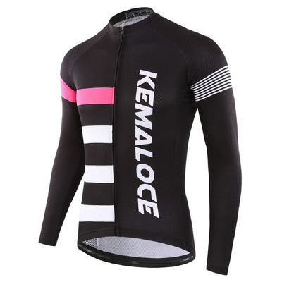 City Jump Long Sleeve Cycling Jersey
