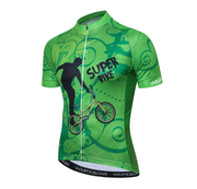 Mountain Peak Short Sleeve Cycling Jersey