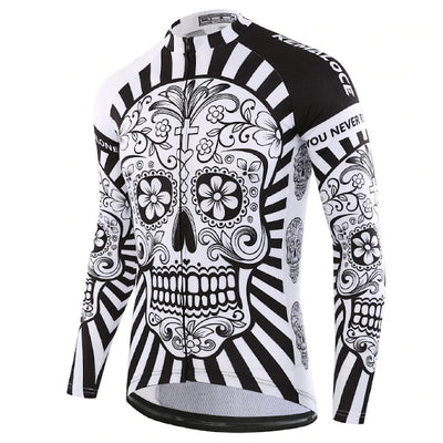 Mind Body and Soul Long Sleeve Cycling Jersey