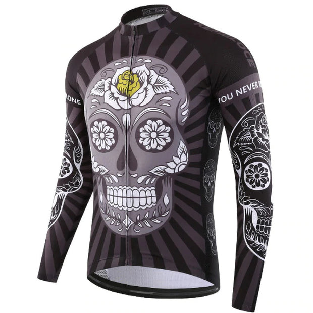 Mind Blossom Long Sleeve Cycling Jersey