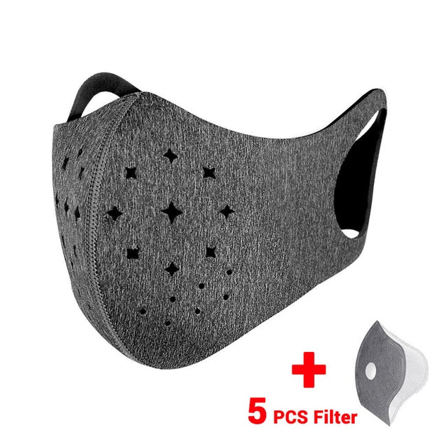 Breathable Filtered Face Shield
