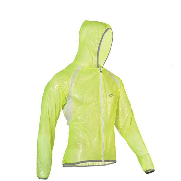 Vibrant Waves Waterproof Cycling Jacket