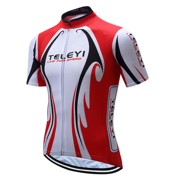 Live For Speed Short Sleeve Cycling Jersey