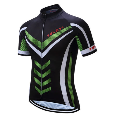 Spiral Short Sleeve Cycling Jersey