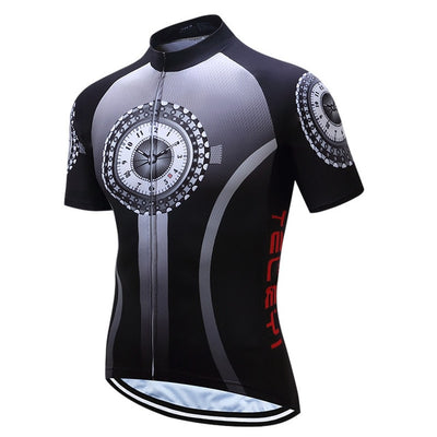 Father Time Short Sleeve Cycling Jersey