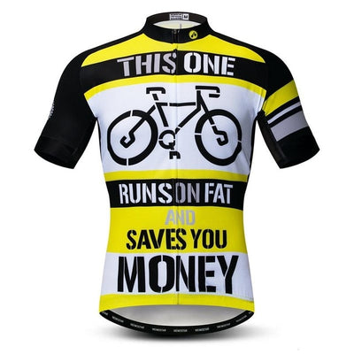 Hilarious Short Sleeve Cycling Jersey