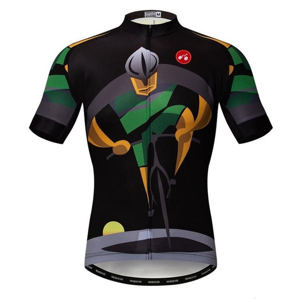 Road Warrior Short Sleeve Cycling Jersey