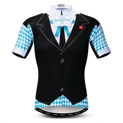 Oktoberfest Short Sleeve Cycling Jersey
