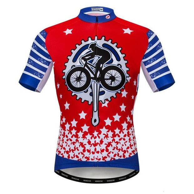 Gear Bike Cycling Jersey