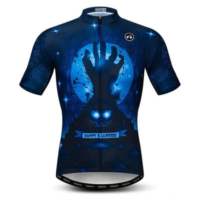 Halloween Short Sleeve Cycling Jersey