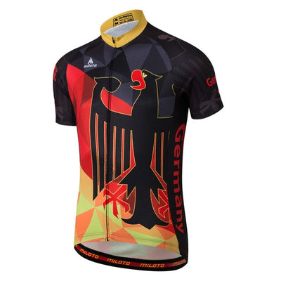 Germany Short Sleeve Cycling Jersey