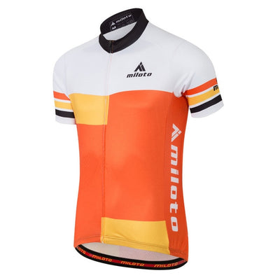 Sunkist Short Sleeve Cycling Jersey