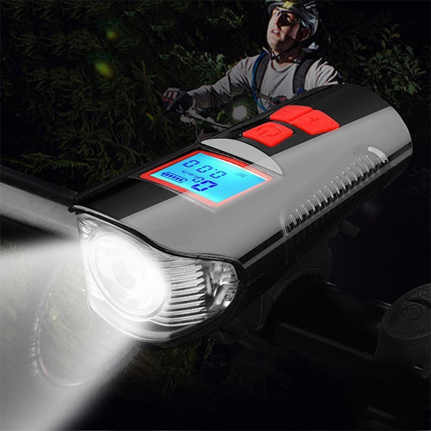 Night Conquest LCD Odometer and Bike Light
