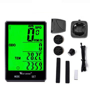 Big Screen Waterproof Wireless Speedometer/Odometer