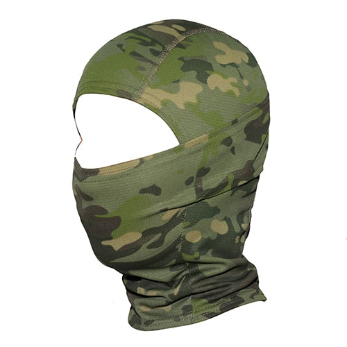 Tactical Camouflage Cycling Balaclava