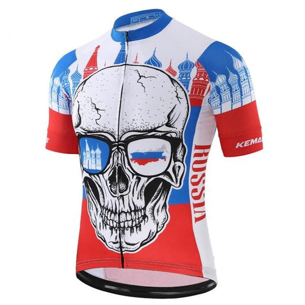 Russian Skull Cycling Jersey