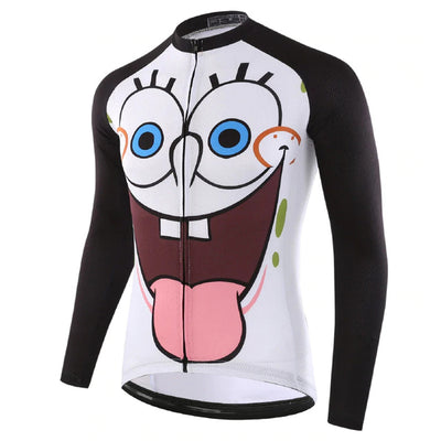 SpongeBob SquarePants Long Sleeve Cycling Jersey