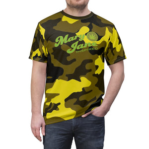 Mary Jane Inspired 420 Yellow Camo Tee - Fuckinuts