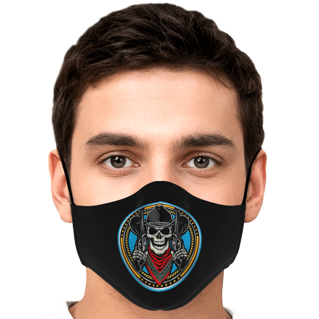 Outlaw Tendencies Face Mask - Fuckinuts
