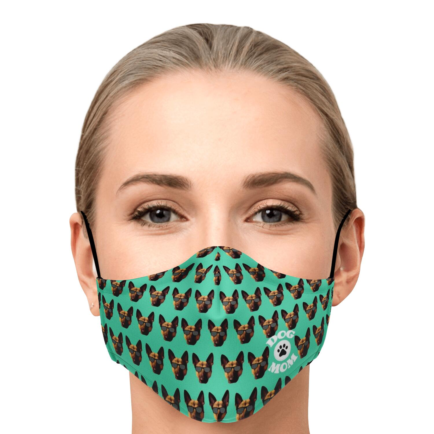 Dog Mom Face Mask - Fuckinuts