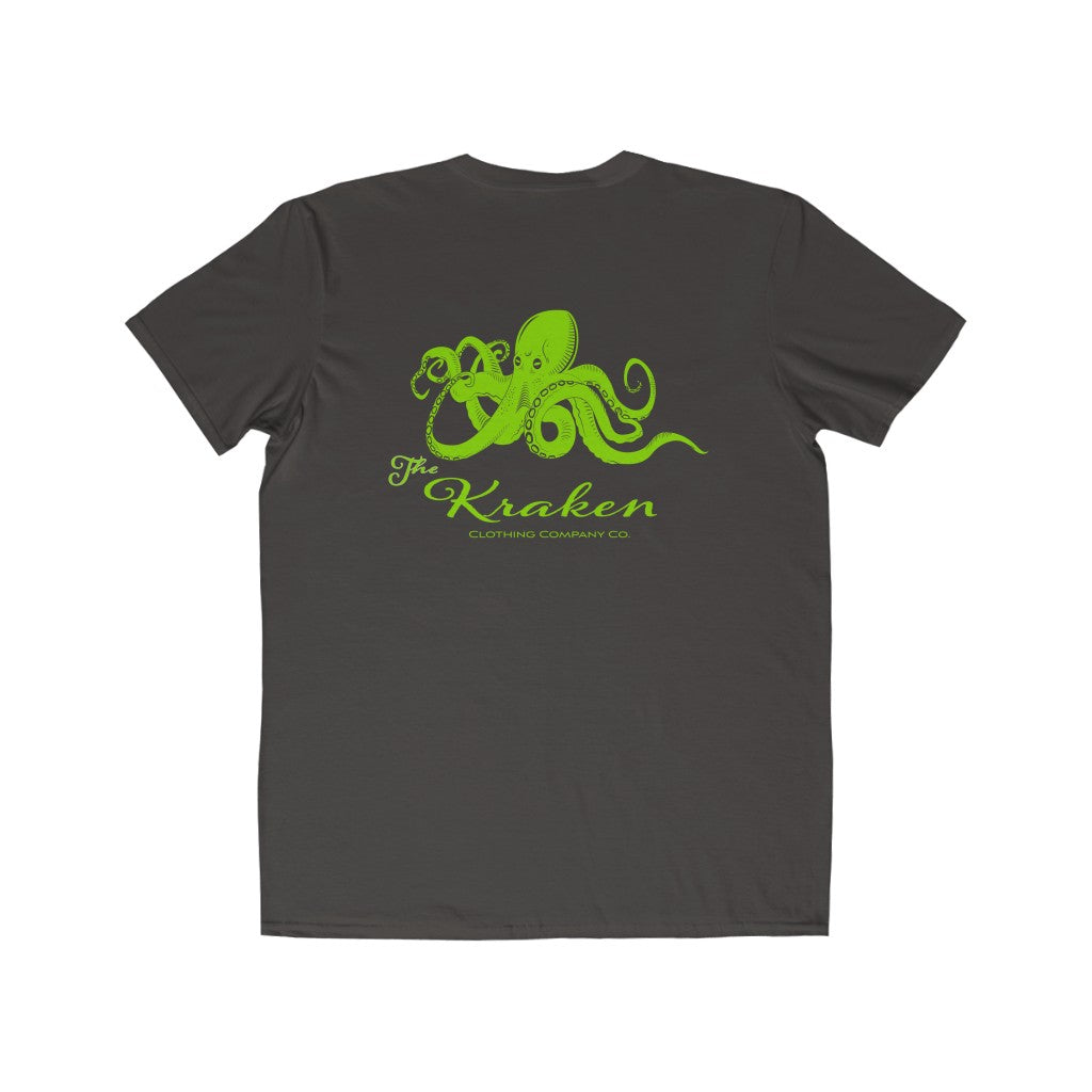 The Kraken Lime Crew Neck Tee - Fuckinuts