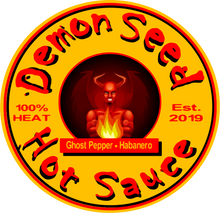 Load image into Gallery viewer, Demon Seed Devil Hot Sauce