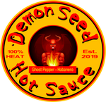 Demon Seed Devil Hot Sauce - Fuckinuts