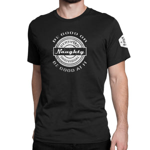 Certified Naughty Individual Short-Sleeve T-Shirt - Fuckinuts