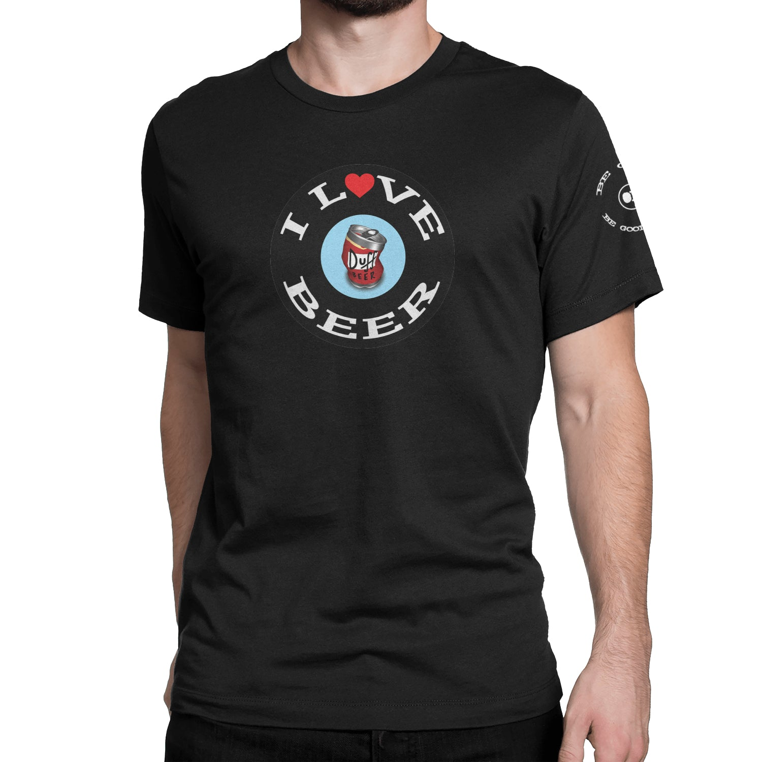 I Love Beer Short-Sleeve Unisex T-Shirt - Fuckinuts