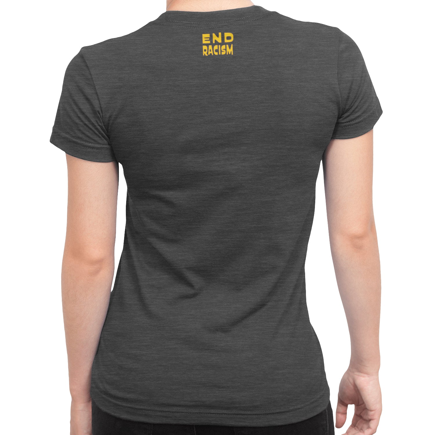 Buckwheat Say O Tay End Racism Women's Scoop neck T-Shirt - Fuckinuts