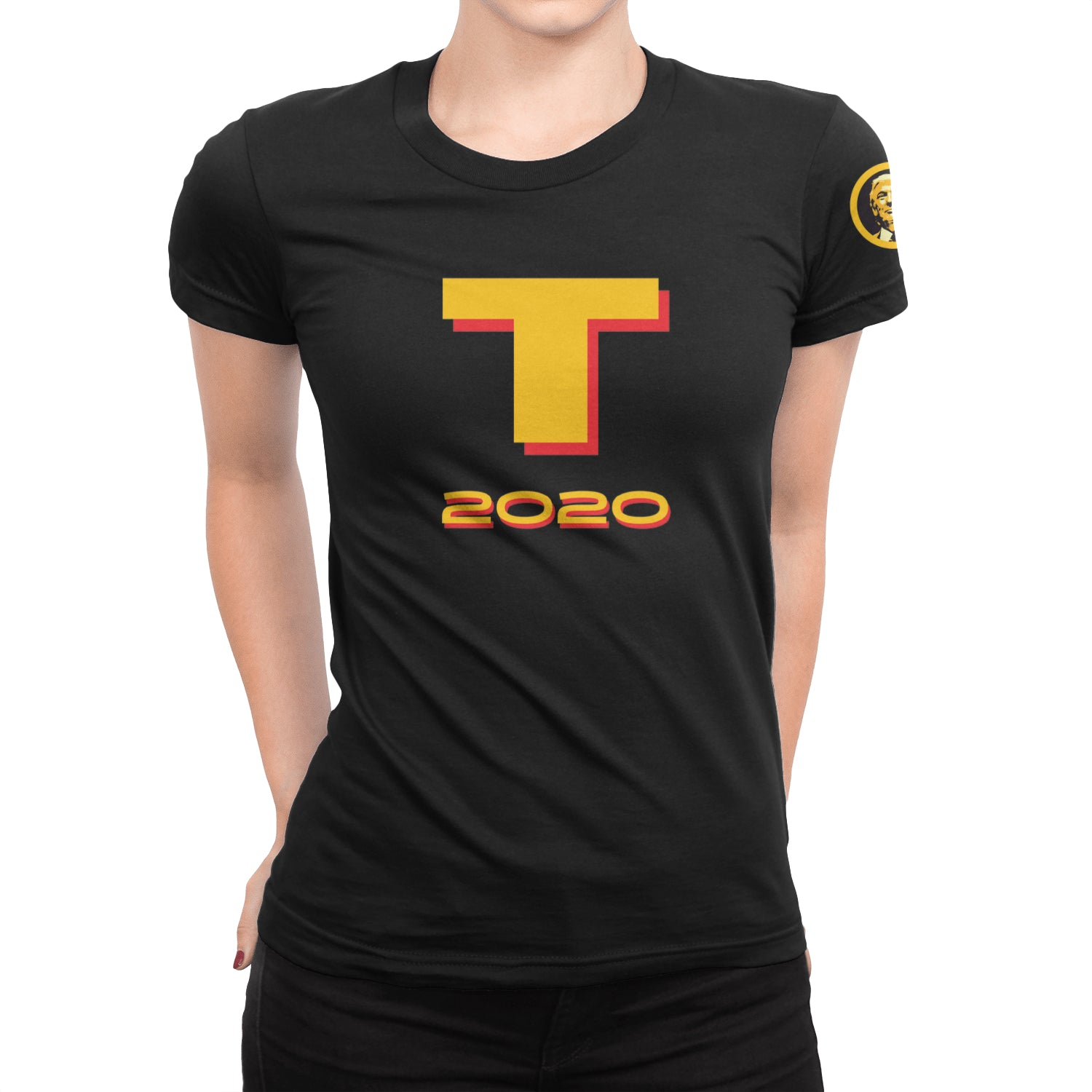 T 2020 Women's Scoop-neck T-Shirt - Fuckinuts