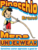 Pinocchio Brand Men's Underwear - Fuckinuts