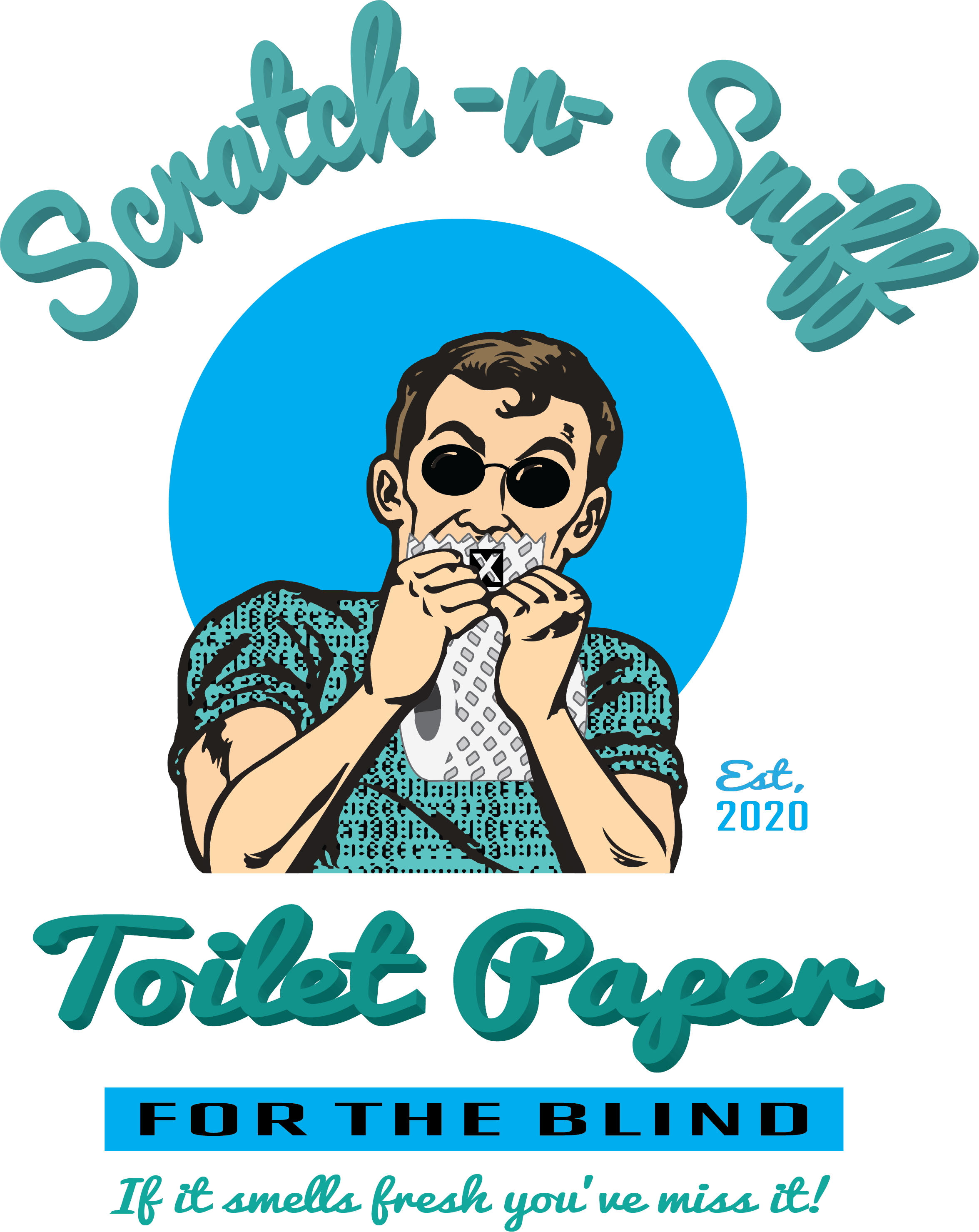 Scratch n Sniff Toilet Paper for the Blind - Fuckinuts