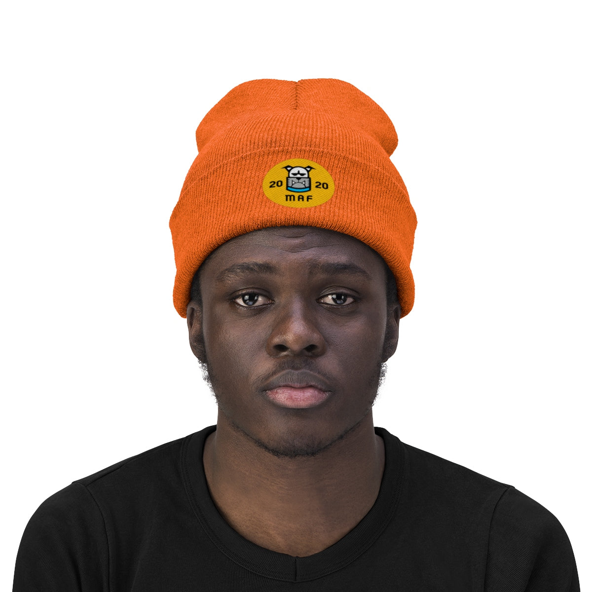 Miami Art Factory MAF Knit Beanie - Fuckinuts